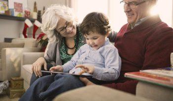 La tablette senior
